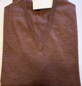 Piet Nollet Pullover, / V-Model / 100% Extra Fine Wool Merino
