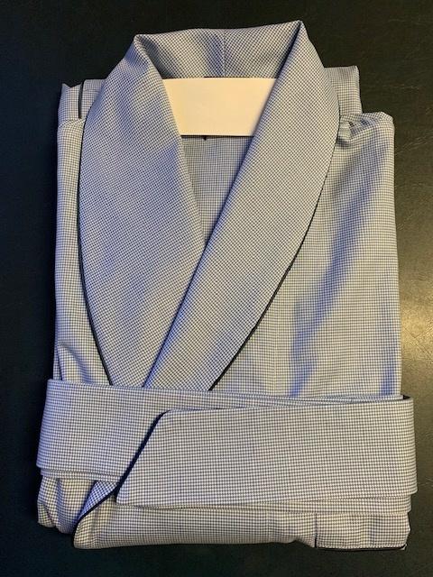 Piet Nollet Peignoir, Homme / 100% coton égyptien / 2 x ret. avec passe poile et 3 sacs
