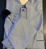 Piet Nollet Nachthemd voor mannen met slaapmuts  Topkwaliteit Egyptisck KATOEN ( 2 X R.)