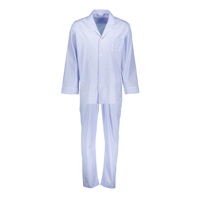 Zimmerli Pyjama   HEREN , Effen  Lang ,   100%  KATOEN , MERCERISED YARN