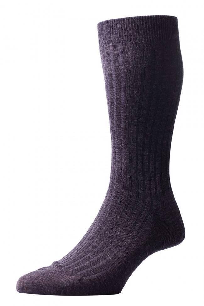 Pantherella Laburnum : HEREN sokken 70% Merino Wool 30% Nylon ( korte sok ) ( Per 3 stuks )