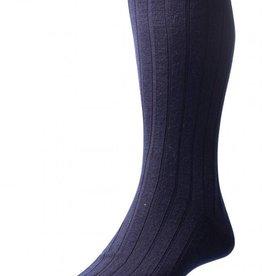 Pantherella Chaussettes hommes courte Packington ~ 5x1 Rib - 70% laine mérinos 30% nylon (Vendu par 3 paires) sock légèrement plus épais