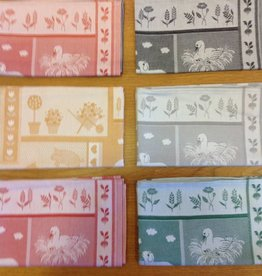 Piet Nollet Kitchen towel animals (100% cotton) 60/80 (PER 6 PIECES)