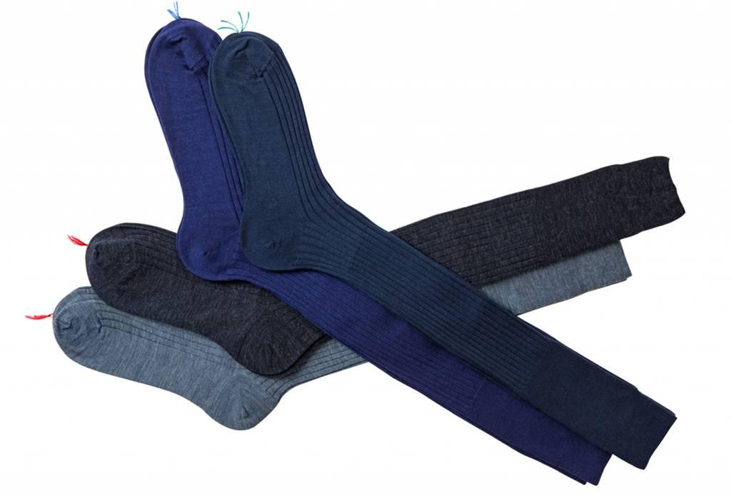Bresciani Socks short men - cotton - fil d'ecosse (Per 6 pieces)