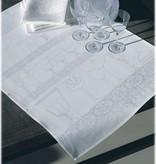Le jacquard francais Keuken handdoeken wit linnen , 60/80 cm ( Per 4 stuks )