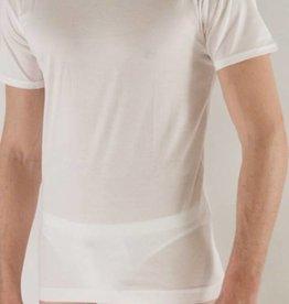 Lisanza uomo T-shirt SS (100% coton) HOMME, col fermé ROND