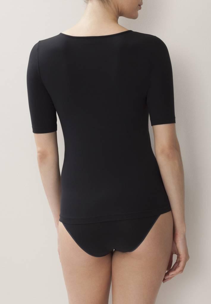 Zimmerli 172 Pure comfort Shirt SS 92% Katoen, 8% Elasthan , single Jersey