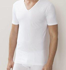 Zimmerli 172 Pure comfort shirt VN SS 92% Katoen, 8% Elasthan, single jersey