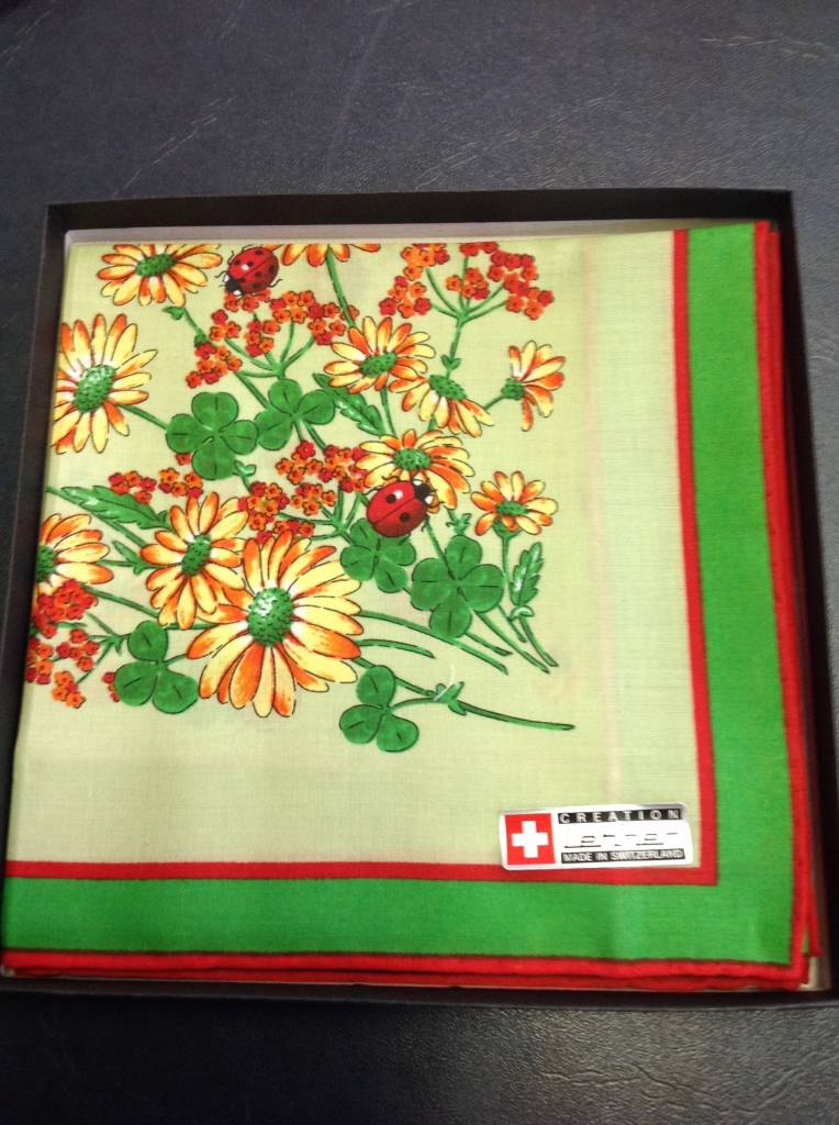 Lehner Zakdoeken Dames ( Zwitsers katoen ) 36/36 cm