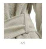 Abyss CAPUZ TWILL Badjas 100% - Egyptisch katoen - 500gr / m2 - GIZA 70