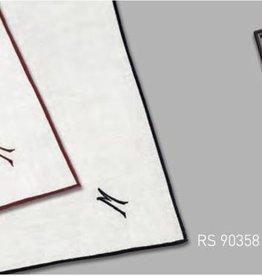 Lehner Zakdoeken Heren - Zwitsers katoen ( Met 1 letter geborduurd ) ( Handgerold ) Per 3 stuks