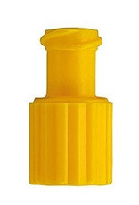 Kombiverschluss Stopfen gelb