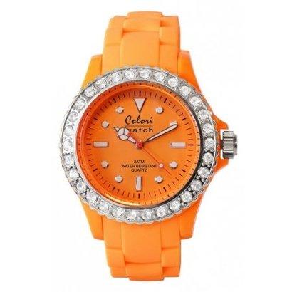 Colori Colori horloge Classic Strass 5-COL110