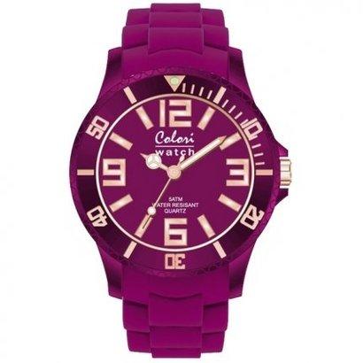 Colori Colori horloge Classic Chic 5-COL133 paars