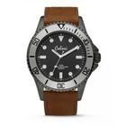 Colori Colori Horloge Timber horloge grijs/zwart