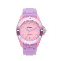 Colori Colori Horloge Colour Combo paars/roze