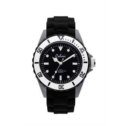 Colori Colori Horloge Colour Combo zwart/grijs