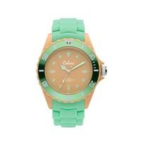 Colori Colori Horloge Colour Combo groen/geel