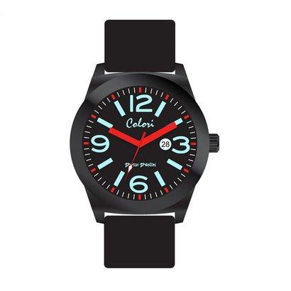 Colori Colori Horloge Dutch zwart