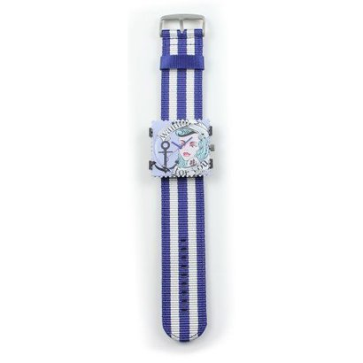 Stamps Stamps Polsband Jack Stripes Blauw