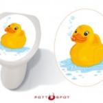 Pott Spot Toilet stickers