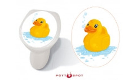 Pott Spot Toilet stickers