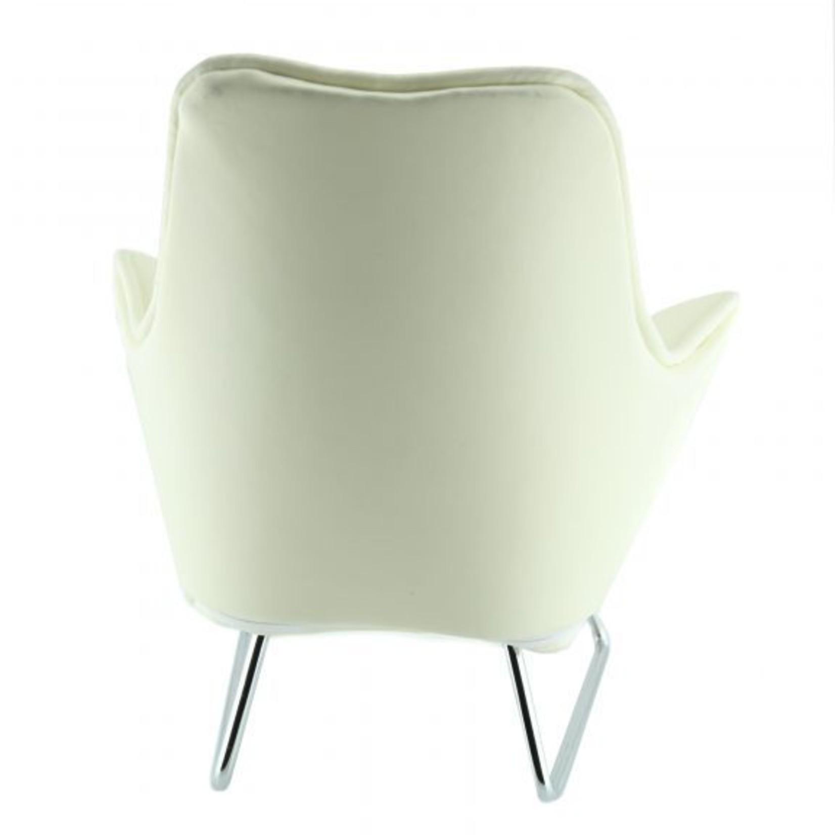 Music chair telefoon wit