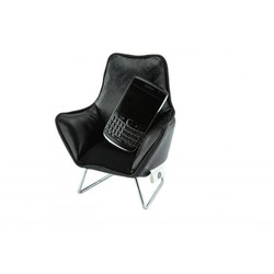 Music chair telefoon zwart