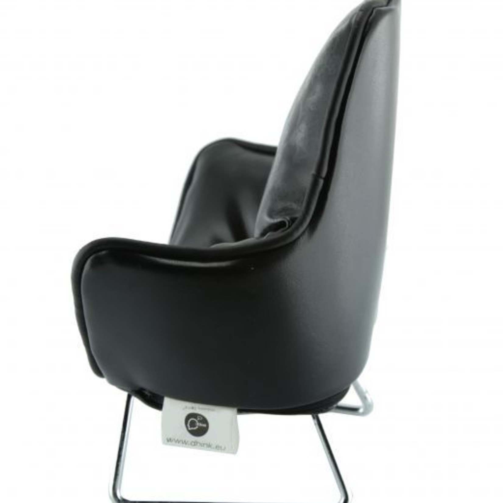 Music chair telefoon zwart