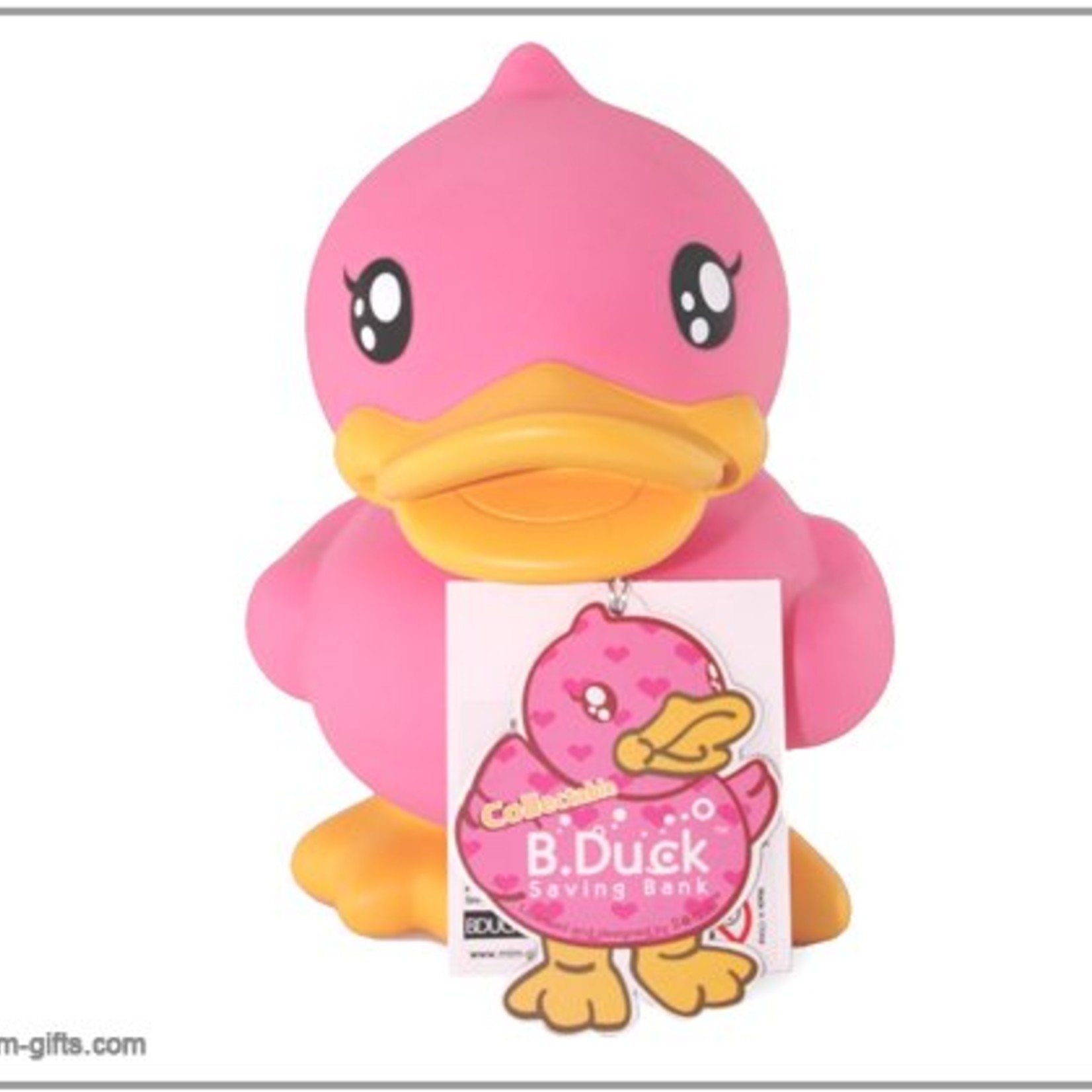 Bduck spaarpot roze Limited Edition. Formaat 18cm.