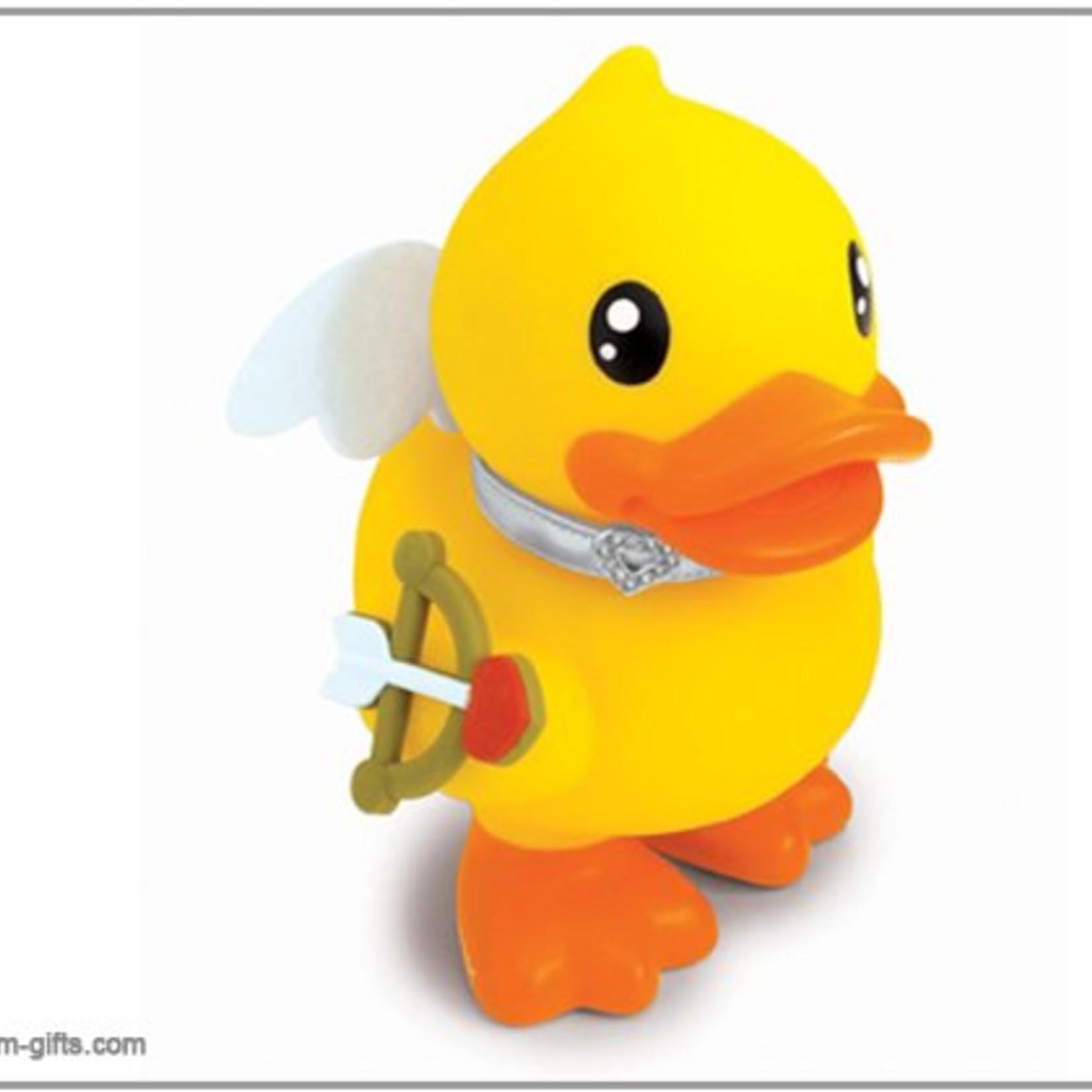Bduck spaarpot Love Cupido geel. Formaat 18cm.