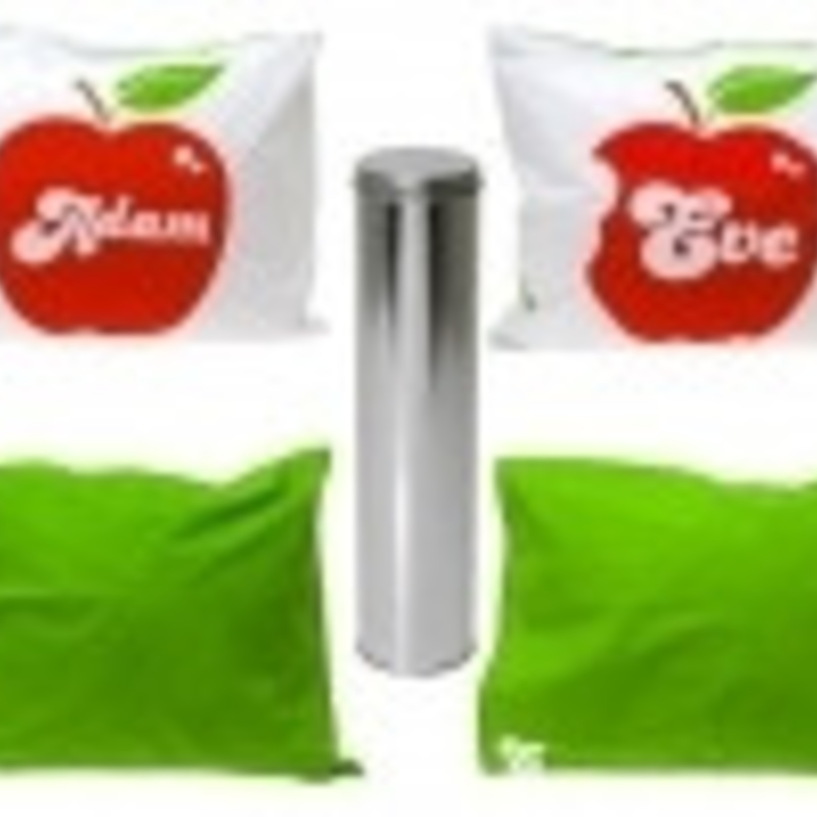 """Met deze kussenset Adam & Eve"""" scoor je altijd!"""