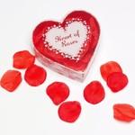 Heart of Roses zijden rozenblaadjes