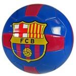 FCBarcelona Bal barcelona leer groot blauw/rood