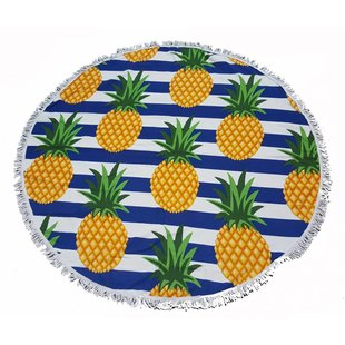 Roundie strandlaken Ananas