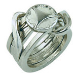Eureka Cast puzzel Ring II*****