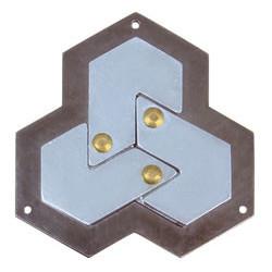 Cast puzzel Hexagon****