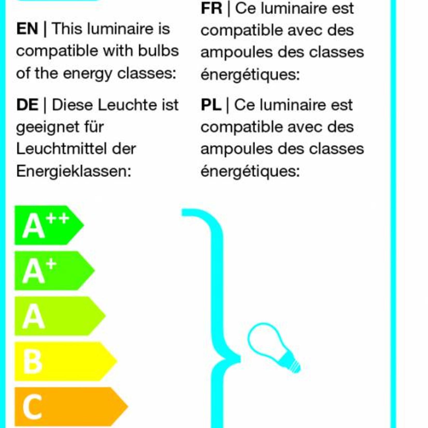 Leitmotiv Vloerlamp Rubi zwart 2 spots LM979