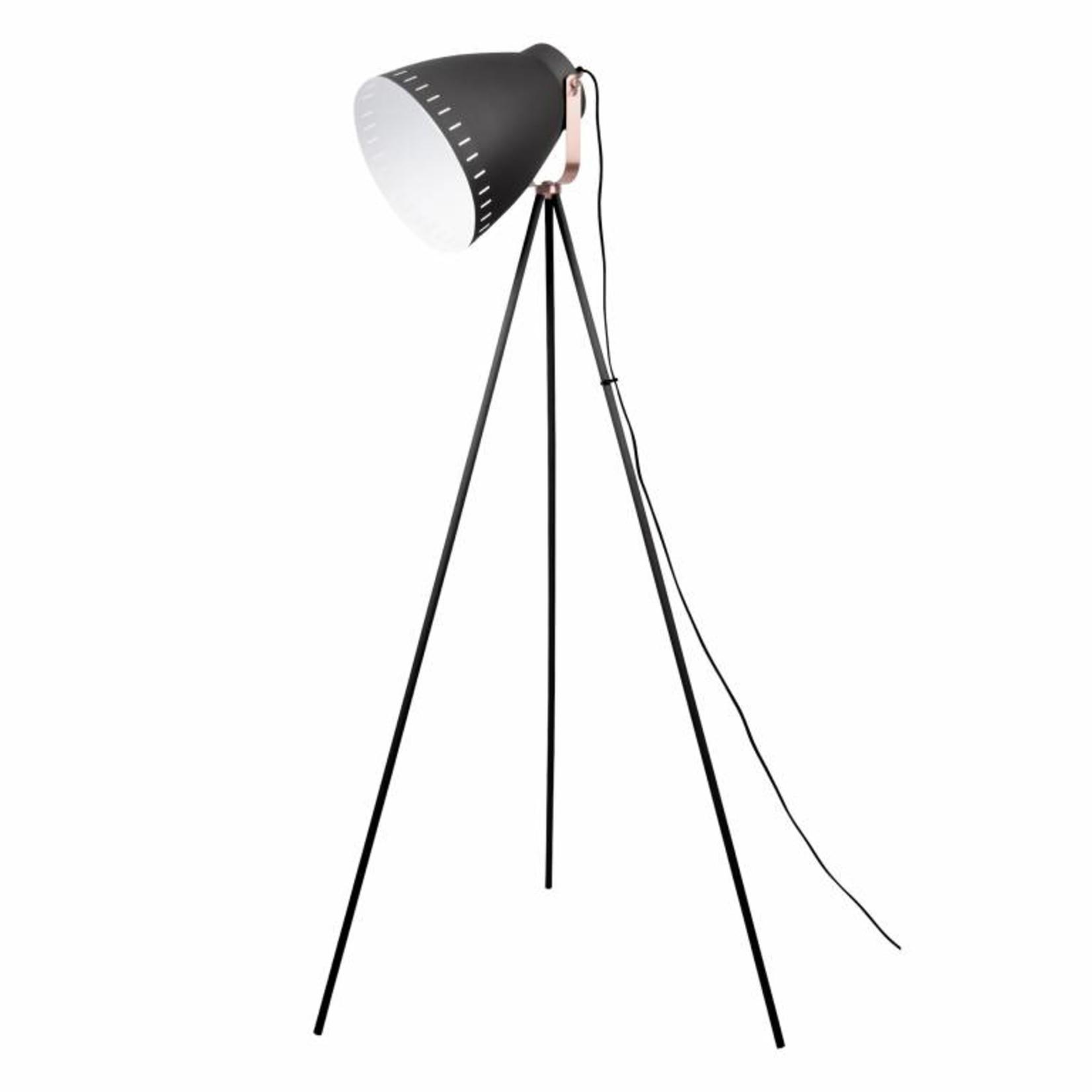 Leitmotiv Vloerlamp Mingle 3 Legs metal black LM1414
