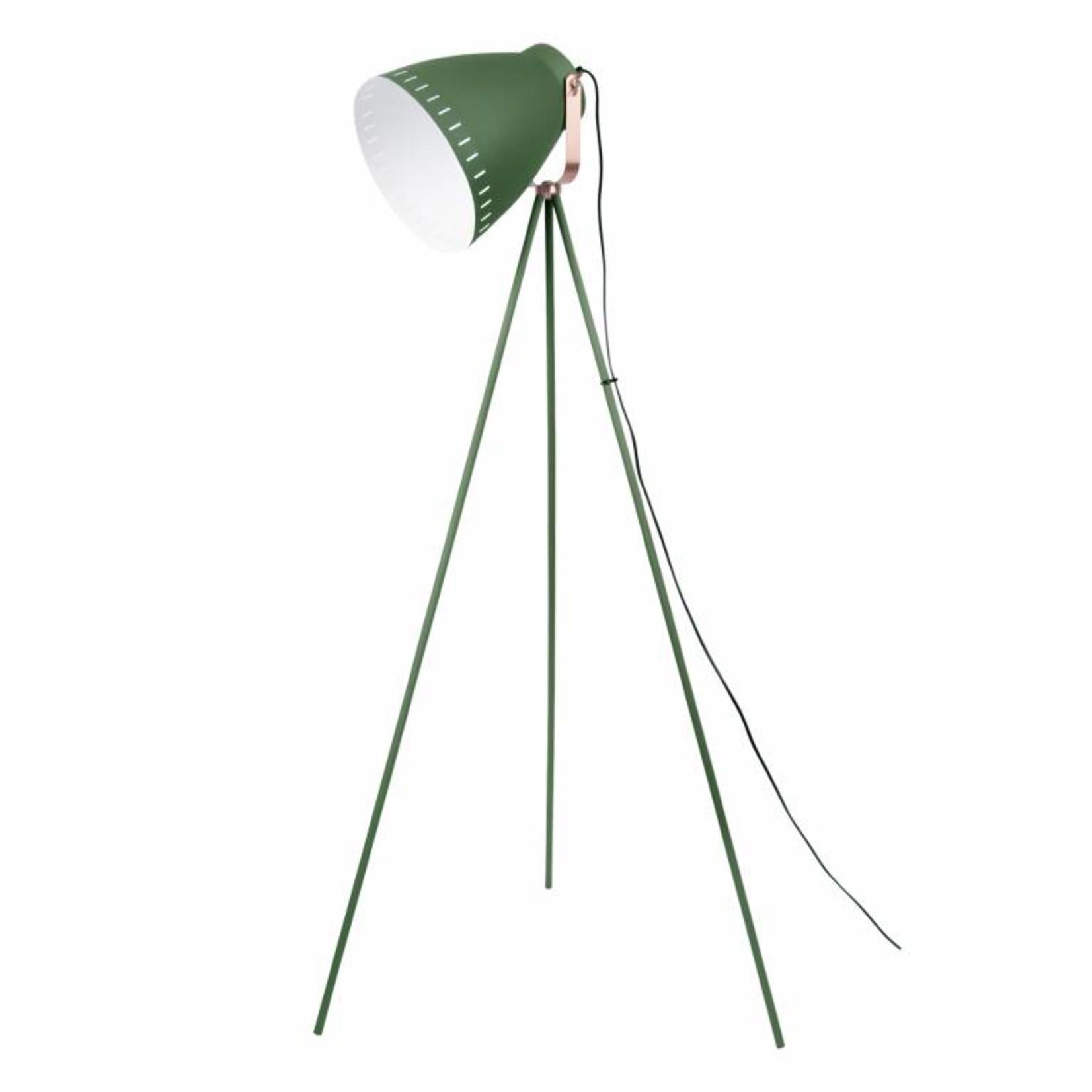 Leitmotiv Vloerlamp Mingle 3 Legs metal pine green LM1417