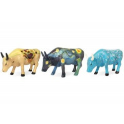Cowparade Collectables Artpack Van Gogh set 3 stuks