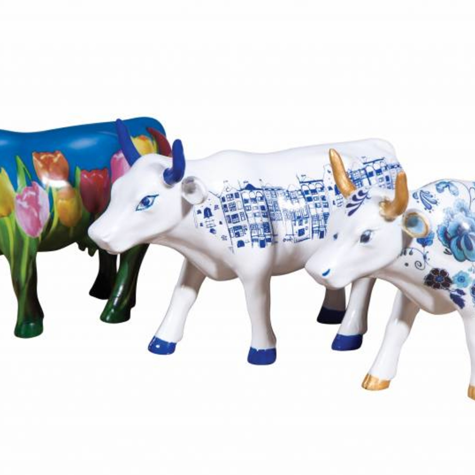 Cowparade Cowparade Art Pack Netherlands set 3 stuks