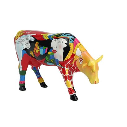 Cowparade Cowparade Small Homage to picowso's African Period