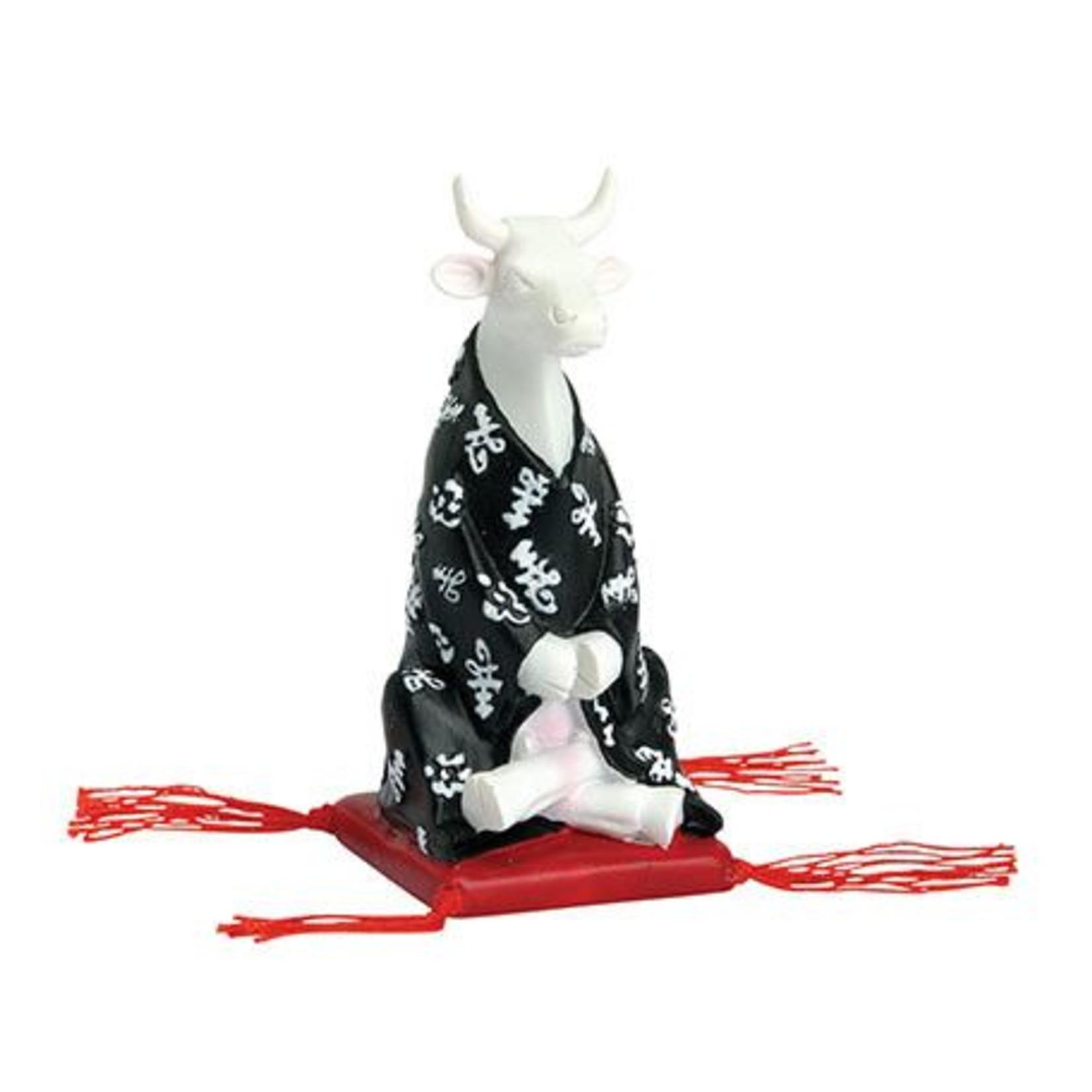 Cowparade Cowparade Small Meditating Cow