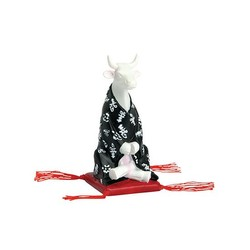 Cowparade Small Meditating Cow
