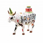 Cowparade Cowparade Large Happy Birthday to Moo