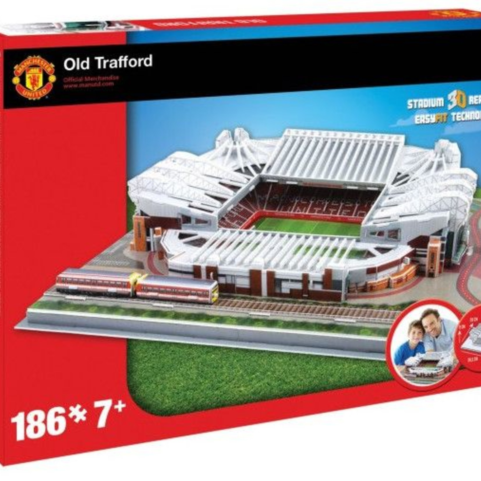 Puzzel Manchester United: Old Traffort 186 stukjes