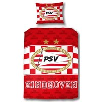 PSV Dekbed psv rood/wit: 140x200/60x70 cm