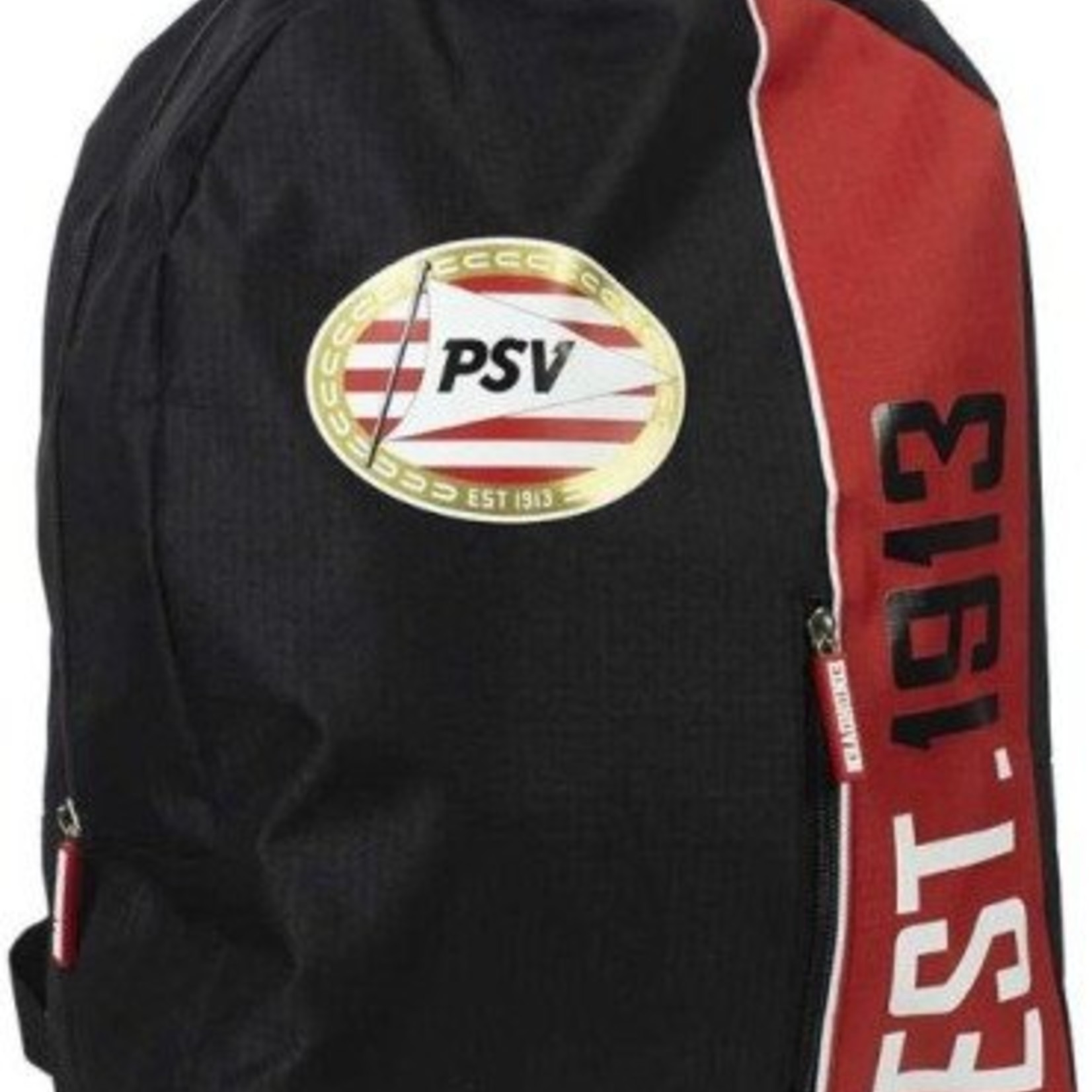 PSV Rugzak psv zwart/rood: 42x31x14 cm