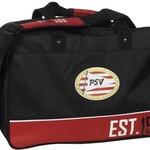 PSV Sporttas psv zwart/rood: 45x30x28 cm